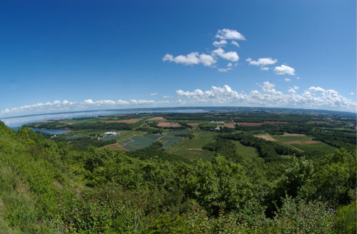 Blomidon - view of Starr's Point